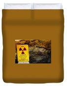 Uranium Mine In Capitol Reef Np Duvet Cover