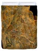 Uranium Ore Conglomerate Duvet Cover