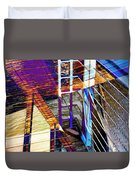 Urban Abstract 224 Duvet Cover