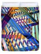 Urban Abstract 258 Duvet Cover