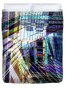 Urban Abstract 304 Duvet Cover