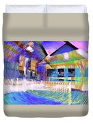 Urban Abstract 333 Duvet Cover