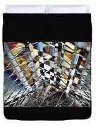 Urban Abstract 343 Duvet Cover