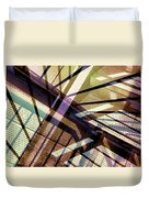 Urban Abstract 348 Duvet Cover