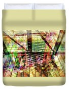 Urban Abstract 369 Duvet Cover