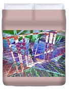 Urban Abstract 411 Duvet Cover