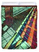 Urban Abstract 472 Duvet Cover