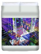 Urban Abstract 476 Duvet Cover
