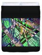 Urban Abstract 500 Duvet Cover