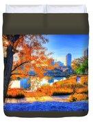 Urban Autumn Paradise Duvet Cover