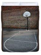 Urban Basketball Street Ball Outdoors Duvet Cover