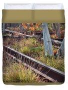 Urban Birches Duvet Cover