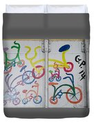 Urban Container Art I I Duvet Cover