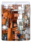 Urban Geometry 1 Duvet Cover