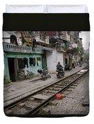 Urban Hanoi Duvet Cover