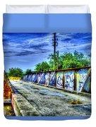 Urban Overpass Duvet Cover