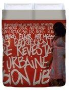 Urban Paris Duvet Cover