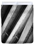 Urban Rib Cage - Number One Duvet Cover