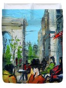 Urban Story - Champs Elysees Duvet Cover