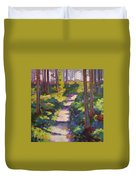 Urban Trail Climb Duvet Cover