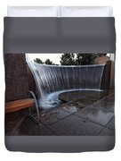 Urban Waterfall  Duvet Cover