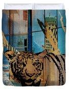 Urban Wildlife Duvet Cover