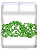 Urnes Snake Extended Stomach Retro Duvet Cover