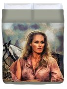 Ursula Andress Duvet Cover
