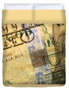 Us 100 Dollar Bill Security Features, 6 Duvet Cover