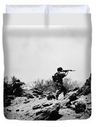 U.s. Army Soldier Duvet Cover