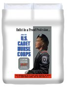 Us Cadet Nurse Corps - Ww2 Duvet Cover