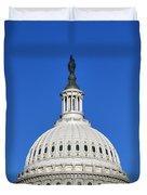 Us Capitol Building Dome Duvet Cover