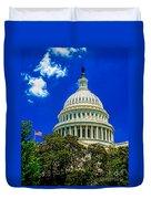 Us Capitol Dome Duvet Cover