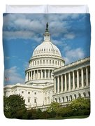 Us Capitol Washington Dc Duvet Cover