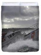 U.s. Coast Guard Motor Life Boat Brakes Duvet Cover