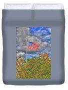 Us Flag 8091 Duvet Cover