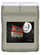 Us Route 66 Briggs And Stratton Signage Sc Duvet Cover