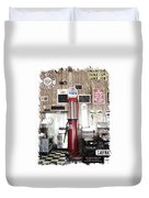 Us Route 66 Smaterjax Dwight Il Gas Pump 01 Pa 01 Duvet Cover