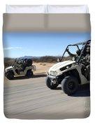 U.s. Soldiers Drive Multiple Ltatvs Duvet Cover