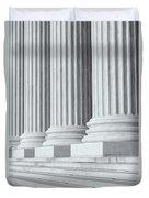 Us Supreme Court Building Iv Duvet Cover