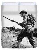 U.s World War II Infantry, 1942 Duvet Cover