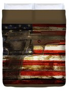Usa Handgun Duvet Cover
