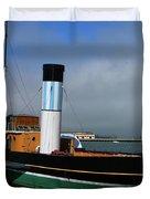 Usa Paddle Steamer Eppleton Hall Newcastle Duvet Cover