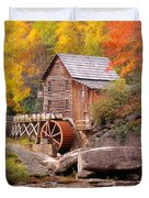 Usa, West Virginia, Glade Creek Grist Duvet Cover