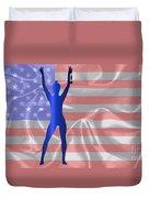 Usa Winner Background Duvet Cover