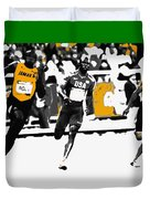 Usain Bolt Bringing It Home Duvet Cover