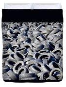 Used Tires Duvet Cover