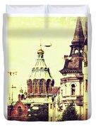 Uspenski Cathedral Duvet Cover