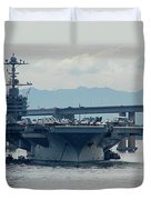 Uss George Washington Duvet Cover