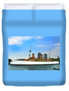 Uss Olympia Duvet Cover
